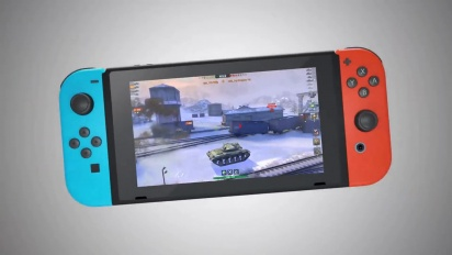 World of Tanks Blitz launches on the Nintendo Switch