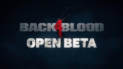 Back 4 Blood - Official Open Beta -traileri
