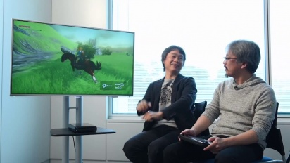The Legend of Zelda Wii U - Gameplay First Look