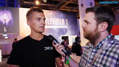 Battlefield 1: Incursions - David Sirland haastattelussa