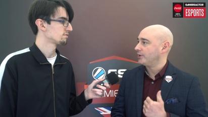 ESL UK Premiership Finals - Matt Andrews haastattelussa