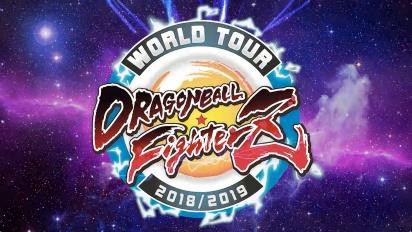 Dragon Ball FighterZ  - World Tour -julkistus
