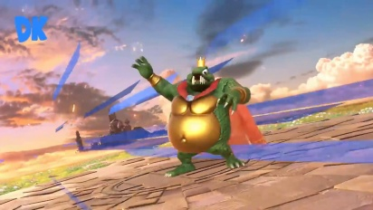 Super Smash Bros. Ultimate - King K. Rool -pelikuvaa
