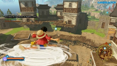 One Piece: World Seeker - Pirate Islands freeroam -pelikuvaa