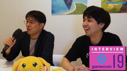 Trials of Mana - Masaru Oyamada ja Shinichi Tatsuke Gamescom 2019 haastattelu