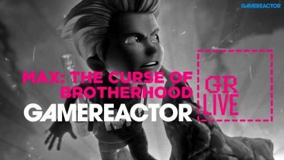 Max: The Curse of Brotherhoodin kehittäjät vierailevat GR Livessä