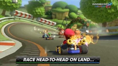 Mario Kart 8 Deluxe - Overview-traileri