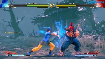 Street Fighter V: Arcade Edition - SF Alpha Path - Sakura vs. Akuma