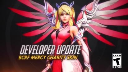 Overwatch - Developer Update: Pink Mercy -hyväntekeväisyystapahtuma
