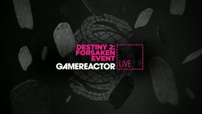 GR Liven uusinta: Destiny 2: Forsaken Event
