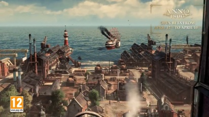 Anno 1800 - Open Beta -traileri