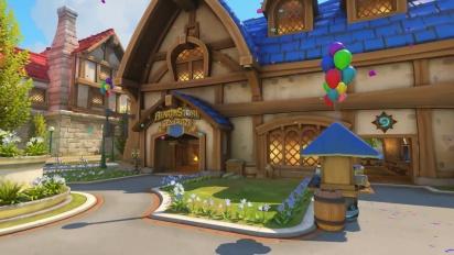 Overwatch - Blizzard World | uusi Hybrid-kartta