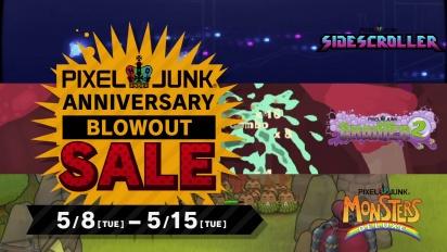Pixeljunk Anniversery Blowout Sale Trailer