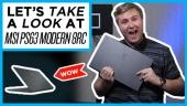 Nopea katsaus - MSI PS63 Modern 8RC