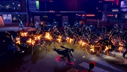 Persona 5 Scramble: The Phantom Strikers - Protagonist Character -traileri (japaniksi)