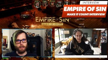 Empire of Sin: Make It Count - Romero Games haastattelussa