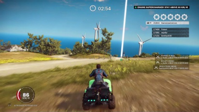 Just Cause 3 - Lighthouse Blast -haaste