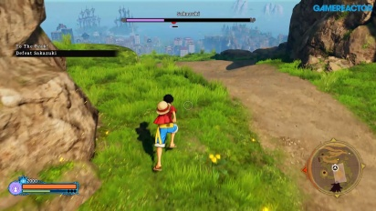 One Piece World Seeker - Gamescom-pelikuvaa