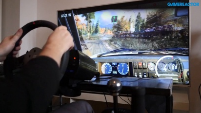 Dirt Rally 2.0 - Fanatec CSL Wheel -pelikuvaa - Golf 2 GTI