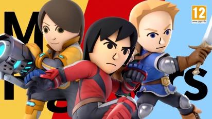 Super Smash Bros. Ultimate - Mii Fighter Costumes #2 -traileri