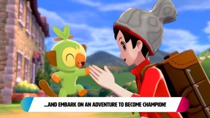 Pokémon Sword/Shield - Yleiskatsaus