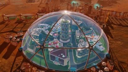 Surviving Mars - In-Dome Buildings Pack -julkaisutraileri