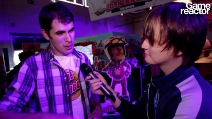 GC 12: Joe Danger: The Movie -haastattelu