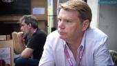 David Jones - Gamelab Lifetime Achievement Award haastattelussa