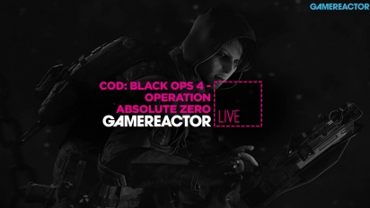 GR Liven uusinta: Call of Duty: Black Ops 4 - Operation Absolute Zero