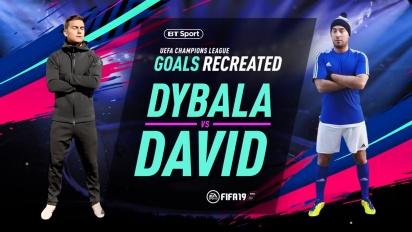 FIFA 19 - Paulo Dybala Recreates UEFA Champions League Goal