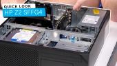 Nopea katsaus - HP Z2 SFFG4