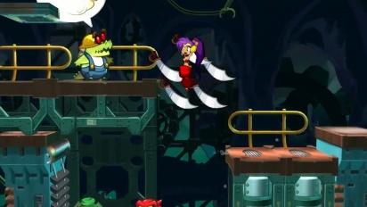 Shantae: Half-Genie Hero - julkaisutraileri