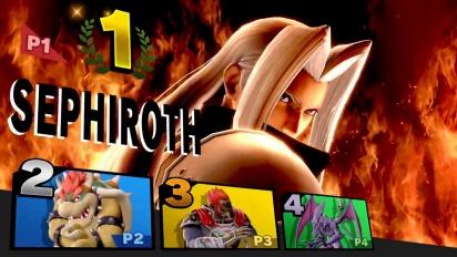 Super Smash Bros. Ultimate - Sephiroth Presentation