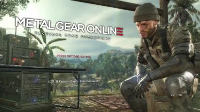 MGSV: The Phantom Pain - Metal Gear Onlinen pelikuvaesittely
