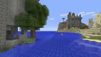 Minecraft: Console Edition joulupäivityksen traileri