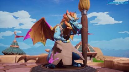 Spyro Reignited Trilogy - Gamescom-pelikuvaa