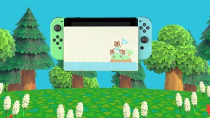 Nintendo Switch Animal Crossing: New Horizons Edition Traileri