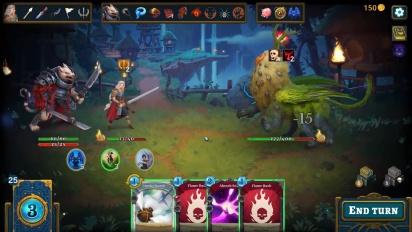 Roguebook - Gameplay-traileri