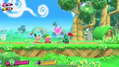Kirby Star Allies - Nintendo Direct -traileri