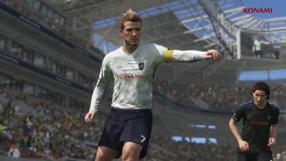 PES 2018 - David Beckham Legend -traileri