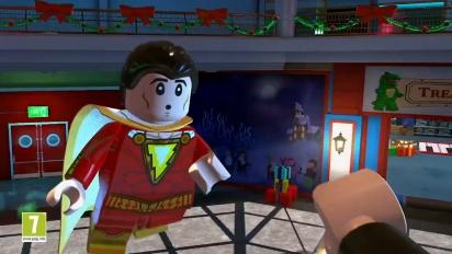Lego DC Super-Villains - Shazam! -traileri