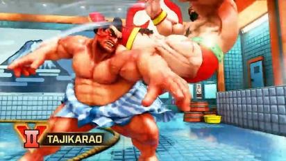 Street Fighter V: Arcade Edition - E. Honda, Lucia & Poison -pelikuvatraileri