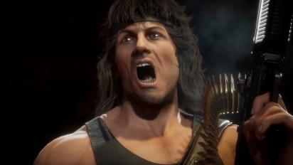 Mortal Kombat 11 Ultimate - Official Rambo Gameplay Traileri