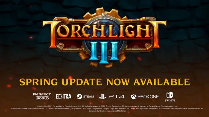 Torchlight III - Spring Update -julkaisutraileri