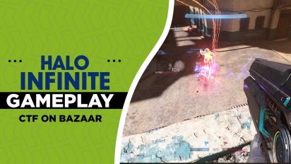 Halo Infinite - CTF on Bazaar Gameplay