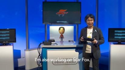Shigeru Miyamoto - 3 Wii U GamePad gameplay ideas at E3 2014