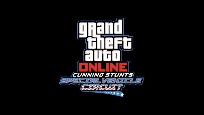 GTA Online - Cunning Stunts Special Vehicle Circuit -traileri