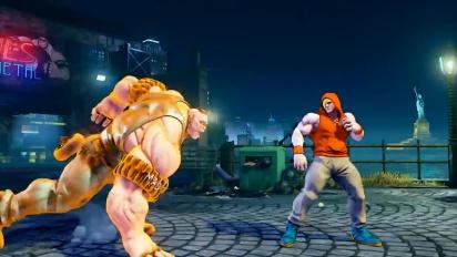 Street Fighter V - Abigailin paljastustraileri