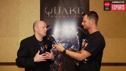 Quake Champions - Tim Willits haastattelussa