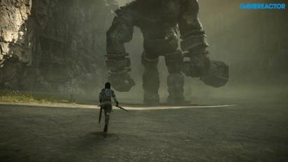 Shadow of the Colossus Remake - ensimmäinen kolossi